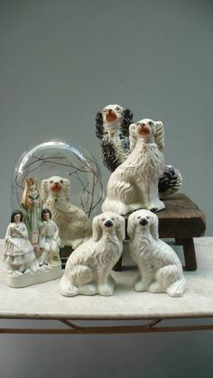 Staffordshire Dogs in STAFFORDSHIRE FIGURES from Quince Brighton