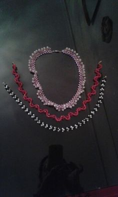 my handmade beaded necklaces