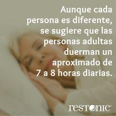 ¿Cuántas hora debemos #dormir? #tips #consejos