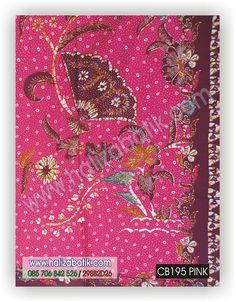 Kain batik cantik motif kipas warna dasar pink dan terdapat motif pinggiran. Yuk buruan order via SMS/WA 085706842526 Lihat koleksi lain klik http://grosirbatik-pekalongan.com