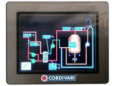 Home automation system for hydraulic control CONTROL UNIT PRS® - CORDIVARI