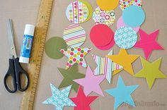 2013 Christmas Printables -paper decorations to print and make