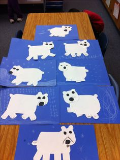 kindergarten penguin and polar bear art projects for - - Yahoo Image Search Results