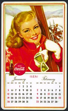 MY ART IMAGES COLLECTION: Coca Cola -  vintage advertising posters