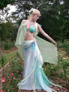 Water Faerie Costume This would need a lot more to it before I'd wear it