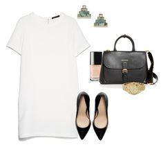 """""""Untitled #334"""" by angela-reiss on Polyvore featuring MANGO, Lulu Frost, Chanel, Burberry, Michael Kors and Zara"""