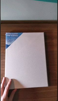 How to turn a dollar store canvas into a work of art using Chalk Couture reusable stencils. Diy Canvas Frame, Diy Canvas Art, Diy Wall Art, Canvas Decor Diy, Framing Canvas Art, Canvas Canvas, Framed Canvas, Dollar Tree Decor, Dollar Tree Crafts