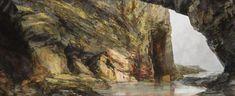 Sarah Adams, Under Whipsiderry arch, oil on linen, 70 x 170 cm