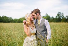 this wedding has good pictures  wedding dress by Elsie Larson | photos by Arrow and Apple | 100 Layer Cake
