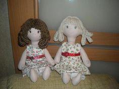 Две Оксаночки-сестрички,  Две сестрички-невелички... (с) Harajuku, Dolls, Patterns, Create, Style, Baby Dolls, Block Prints, Swag, Stylus