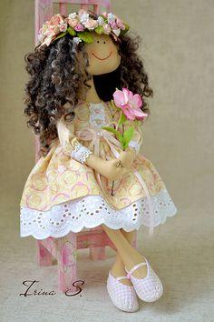 Bonecas artesanais colecionáveis.  Mestres - Feira artesanal Melissa.  Handmade.