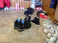 Should Shoes be Worn in the House?
