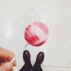 #yummy # #lollipop #sweet #cute  #drmartens #mylife #rest #day #lfl #likeback #fff #me by noluv__co