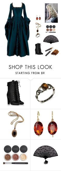 """""""Ll M'aime #5"""" by jazmine-bowman on Polyvore featuring Balmain, Bare Escentuals, Retrò and Cinnamon Projects"""