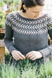 This knitting pattern is from the first issue of the print publication Making.