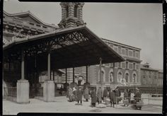 Entrance to Ellis Island