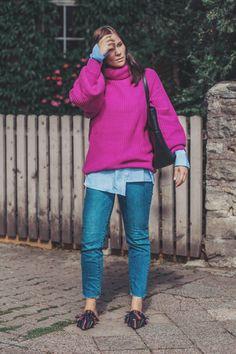 Jeans kleid herbst kombinieren