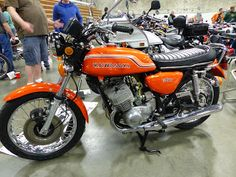 OldMotoDude: 1972 Kawasaki H1 500 on display at the 2016 Idaho ...