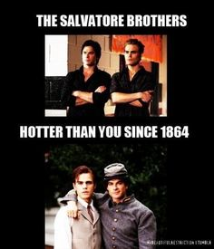 Ian Somerholder and Paul Wesley. I want to personally thank their parents.