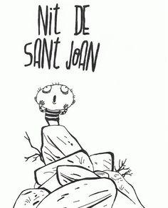 #noche #sanjuan #verbena  FlyDesign #illustration