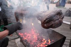 Barbecuing E.T.