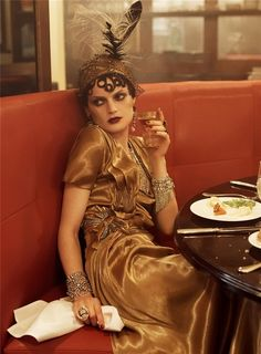 Out of the Notebook and into the blog: Vogue Paris ~ How to incorporate 1920's style into your wardrobe