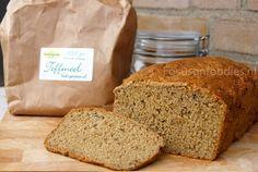 Recept voor een heerlijk glutenvrij brood, gewoon uit de oven.