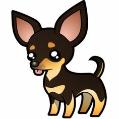 cute Chihuahua cartoons | Cartoon Chihuahua (black and tan smooth coat) Photo Sculpture Chihuahua Drawing, Chihuahua Tattoo, Chihuahua Dogs, Teacup Chihuahua, Pet Dogs, Black Cartoon, Cartoon Dog, Black Chihuahua, Funny Cartoon Images