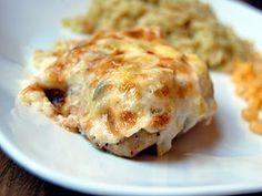 Artichoke crusted chicken .. yum!