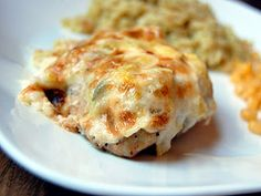 Artichoke-Crusted Chicken- tastes like artichoke dip on chicken!