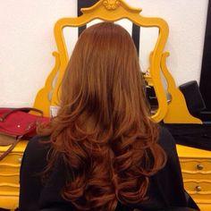 Ruivos: como não amar? ❤ Ruivo por Alexandre Rios #ginger #gingerhair #haircolor #womenstyle #circushair #circuspamplona