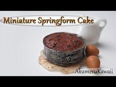 Miniature Springform Cake - Polymer Clay Tutorial - YouTube