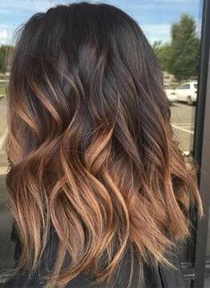 45 Prettiest Hairstyles With Chocolate Brown Hair Color