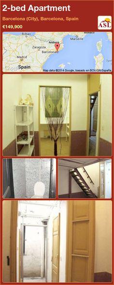 2-bed Apartment in Barcelona (City), Barcelona, Spain ►€149,900 #PropertyForSaleInSpain
