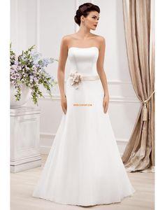 c87aae9310c Zahrada   Venkovní Bez rukávů Přírodní Svatební šaty 2014 Elegant Wedding  Gowns