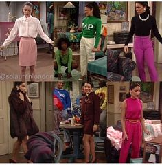 The many looks of whitley gilbert retrô style, vintage и vi Black 90s Fashion, 2000s Fashion, Retro Fashion, Vintage Fashion, Fashion Outfits, Moda Vintage, Vintage Mode, Will Smith, Dwayne And Whitley