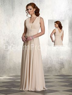 If I consider long...I really like this style different color maybe deep purple or pewter...Mother of the Bride Dress