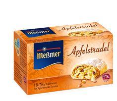 Kuchentee Apfelstrudel