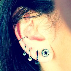 Gauges :-) super cute, this is what i want my ear to look like