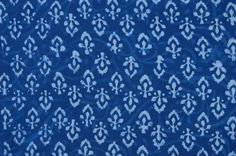 Indigo fabric, Cotton Fabric, Printed Cotton, Hand Block Print Fabric, Cotton…