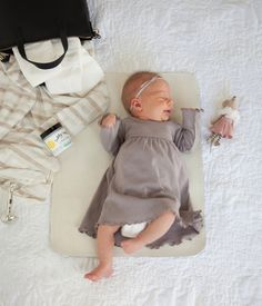 This item is on pre-order and will ship mid-September or sooner.** It isn't always glamorous to change the messiest of all messes--diapers. Feel better about things with a pretty leather mat for diape