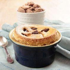 Imaginea rețetei Sufleu cu brânză dulce și ciocolată Pudding, No Cook Desserts, Tzatziki, Apple Pie, French Toast, Cooking, Breakfast, Food, Liqueurs