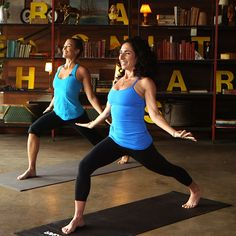 Get Happy and Toned With This Yoga Series From Jennifer Aniston's Trainer. (I like the bouncy low lunges :)