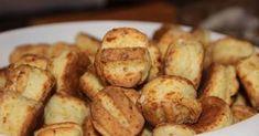 Hidegen kelt sajtos pogi Zsuzsa módra   sue53 receptje - Cookpad receptek Pretzel Bites, Christmas Holidays, Potatoes, Sweets, Bread, Snacks, Cookies, Vegetables, Christmas Vacation