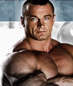 M Pudzianowski / Polish strong man, ex rugby player.