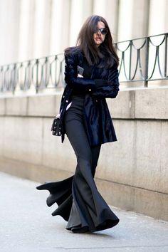 New York Moda Haftası Sokak Stilleri: 1. Gün - Fotoğraf 1 - InStyle Türkiye