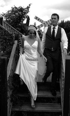 1920's Flapper Style Veil- Tulle headband and detachable floor length veil beading to match dress- Wedding Hair Accessories