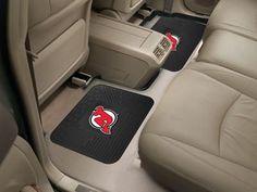 "NHL - New Jersey Devils Backseat Utility Mats 2 Pack 14""x17"""