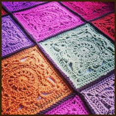 The Patchwork Heart: Willow Blanket tadaa! - links to books for patterns