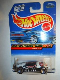 Hot Wheels Mattel 1997 Car-Toon Friends Series #4 of 4 Lakester Die Cast Car Collector #988 1:64 Scale Hot Wheels http://www.amazon.com/dp/B001GMTJ9Y/ref=cm_sw_r_pi_dp_b4TNwb0CZ9PZ3